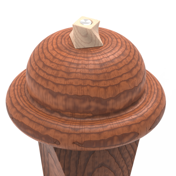 Pepper Mill Maple Piece White Back.40